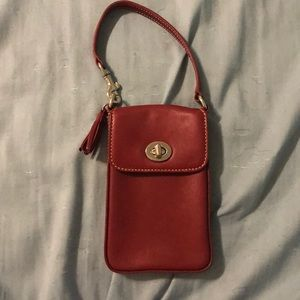 Coach little bag/ wristlet